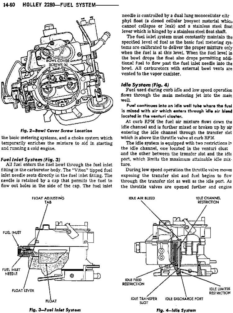 holley 2280 page1 - holley 2280 page 2