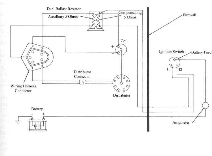 electronic ignition diagram rh slantsix org Wiring 2 Ohms to 1 Ohm 4 Ohm Sub Wiring-Diagram